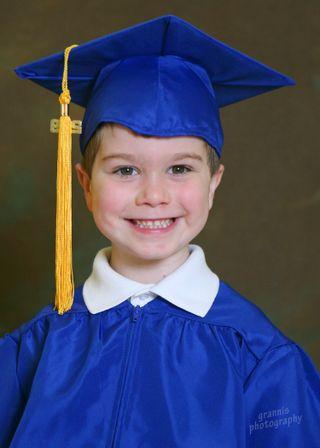 Gus the Graduate Portrait
