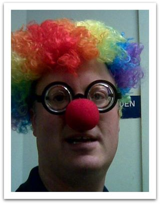 ClownLareFramed